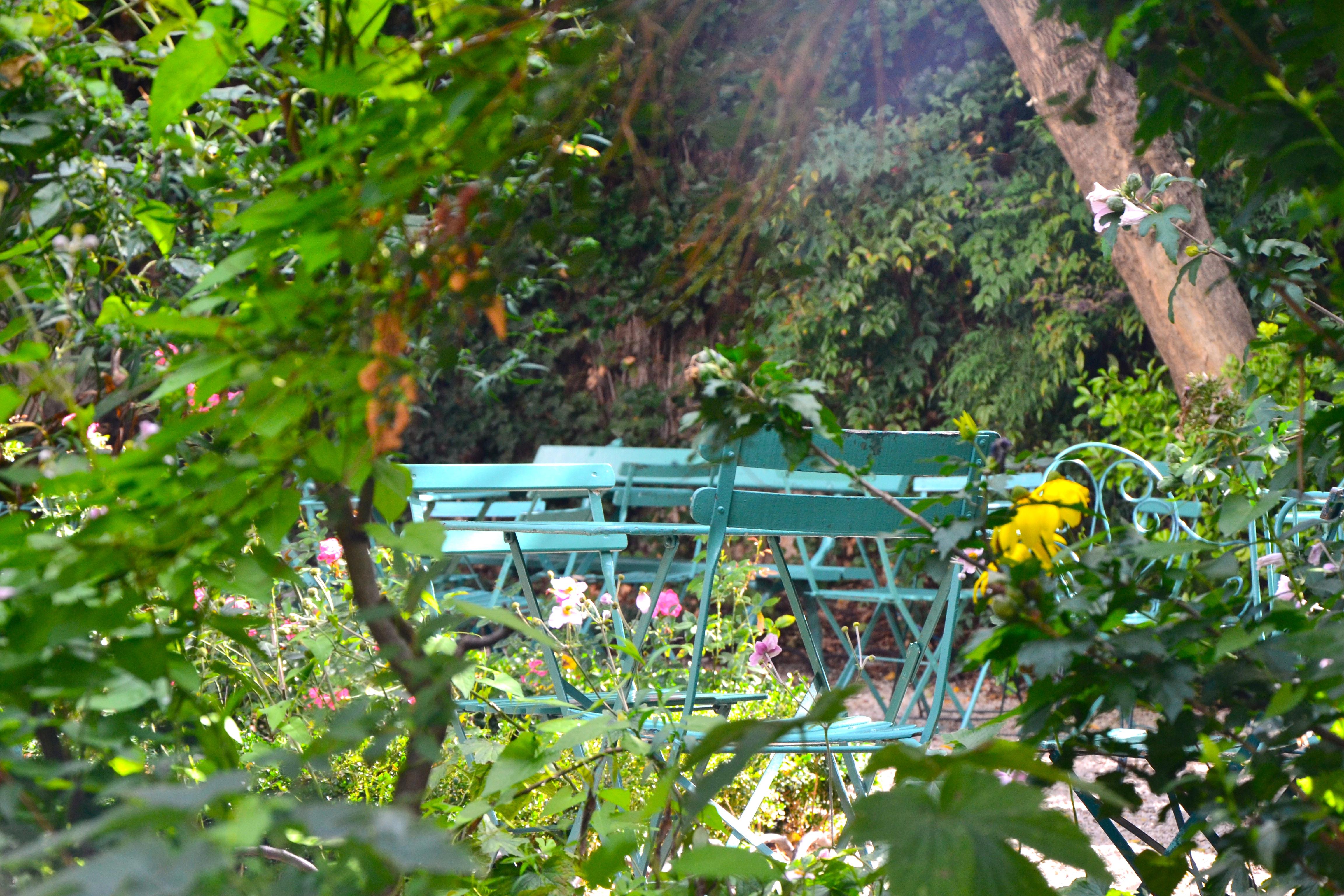 Jardin du mus e de la vie romantique l 39 instant m - Jardin du musee de la vie romantique ...